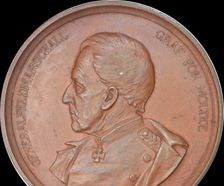 1889 70th anniversary of Field Marshal von Moltke's service medal by Lauer