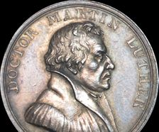 Germany - 1817 Martin Luther and Reformation tercentenary silver medal by Loos