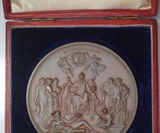 Queen Victoria Golden Jubilee medal by Boehm for sale