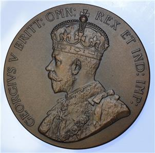 George V - 1925 Empire exhibition medal